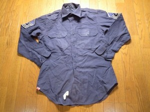 U.S.AIR FORCE Shirt Tropical 1972年 sizeS? used