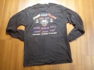 "U.S.NAVY T-Shirt ""USS HOPPER DDG-70"" sizeS? used"