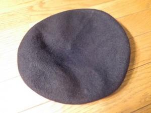 U.S. Beret Wool Black size7 3/8 new