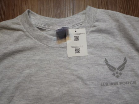 U.S.AIR FORCE T-Shirt Athletic size2XL new?