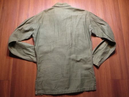 U.S.ARMY Shirt Cotton Utility 1960年頃 sizeXS~S used