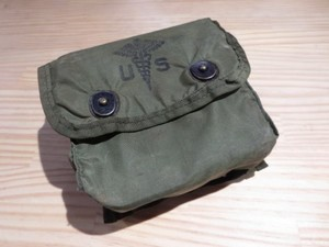 U.S.First Aid Kit Pouch 1970年 used
