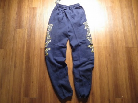 U.S.NAVY Sweat Trousers sizeS new