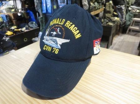 "U.S.Utility Cap""USS RONALD REAGAN CVN-76""used"