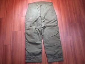 U.S.NAVY Trousers Cold Weather 1978年 sizeL used