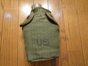 U.S.Canteen with Cover 1966年 used