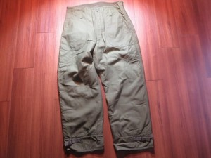 U.S.NAVY Trousers Cold Weather 1979年 sizeM used