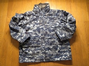 U.S.NAVY Parka Working All Purpose sizeL-S used