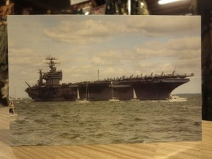 "U.S.NAVY Post Card ""USS GEORGE WASHINGTON CVN-73"""