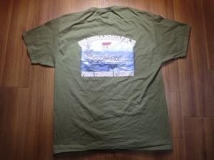 "U.S.NAVY T-Shirt ""USS RONALD REAGAN CVN-76"" sizeXL"