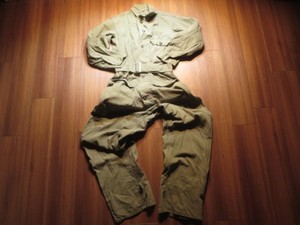 U.S.ARMY Coveralls Utility Cotton HBT 1951年 sizeS
