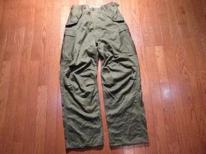U.S.M-51?Field Trousers 1962年 sizeS used?