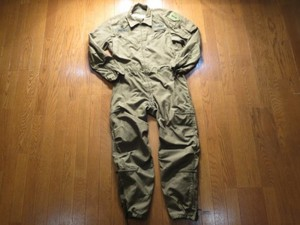U.S.ARMY CoverAlls Combat Vehicle 1989年 sizeM used