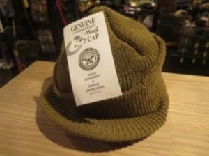 U.S.Jeep Cap 100% Wool  Brown new