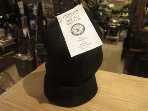 U.S.Watch Cap 100% Wool Black new