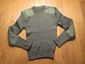 U.S.MARINE CORPS Sweater 100%Wool 1988年 size38used