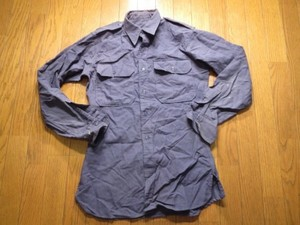 U.S.AIR FORCE Shirt Wool Flannel 1960年代?sizeS?used