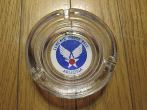 "U.S.AIR FORCE Ashtray ""LUKE AFB"" used"