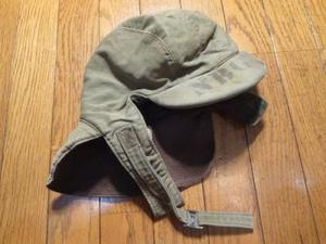 U.S.NAVY Cap Cold weather 1940年代 size7 1/4 used