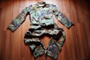 U.S.Coveralls Mechanic's WoodLand sizeS used