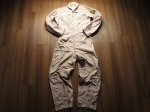 U.S.AIR FORCE Coveralls CWU-27/P TAN size36S used