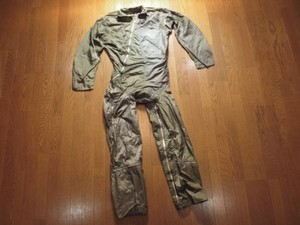 U.S.NAVY Coverall ANTI-G 1950-60年代? size44 used?