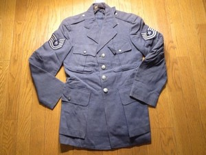 U.S.AIR FORCE Coat Wool 1950年代? size38R used