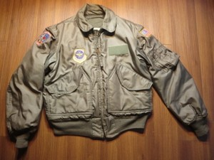 U.S.AIR FORCE Jacket CWU-45/P 1980年代? sizeM? used