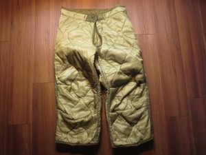 U.S.Liner for M-65 Field Trousers sizeXSmall new?