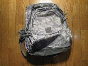 U.S. National Guard Back Pack used