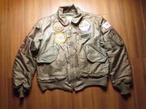 U.S.NAVY CWU-45/P MIL-J-83388D 1980年代? sizeL used