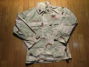 "U.S.NAVY Coat 3Color Desert""SEALS"" sizeS used"