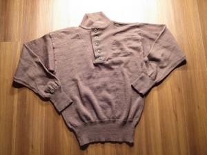 U.S.ARMY Sweater 100%Wool OD 1988年 sizeL used