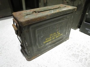 U.S.Ammunition Box 1940年代 used