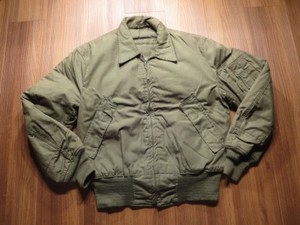 U.S.ARMY Jacket Tanker's Cold Weather 1980年 sizeS