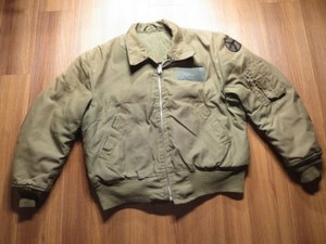 U.S.ARMY Flyer's Jacket Cold Weather sizeL? used