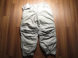 "U.S.ARMY Trousers ExtremeCold ""PRIMALOFT""sizeM new"