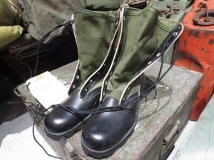 U.S.Boots Combat Tropical 1970年 size6N new