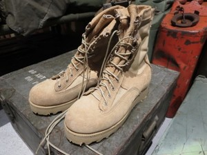 U.S.Combat Boots GORE-TEX size4W used
