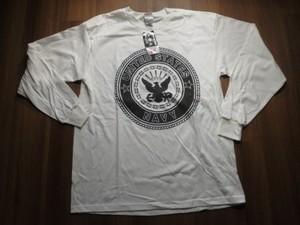 U.S.NAVY T-Shirt Physical Training sizeL new