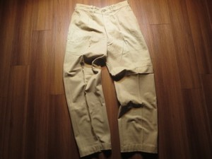 France Trousers Chino M-52? 1955年 waist90cm used