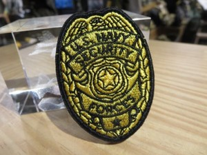 "U.S.NAVY Patch ""SECURITY FORCES"" new?"