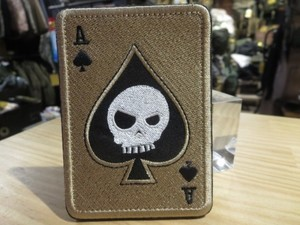 U.S.Funny patch Tan new
