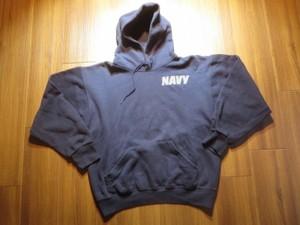 U.S.NAVY Hooded Parka Athletic sizeM used
