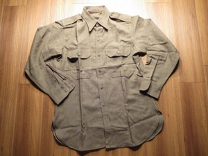 U.S.Field Shirt 100%Wool 1951年 size15 used