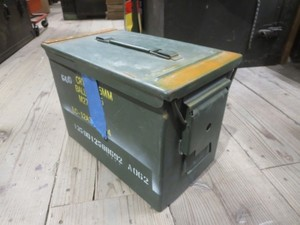 U.S.Ammunition Box Medium used