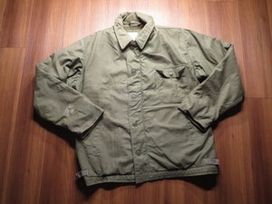 U.S.NAVY Deck Jacket 1985年 sizeL used