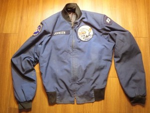 U.S.AIR FORCE Athletic Jacket 1988年 size40L? used