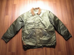 U.S.NAVY DeckJacket Extreme ColdWeather sizeL used