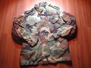 "U.S.NAVY M-65 Field Jacket ""SEABEES"" 1999年 sizeM-R"